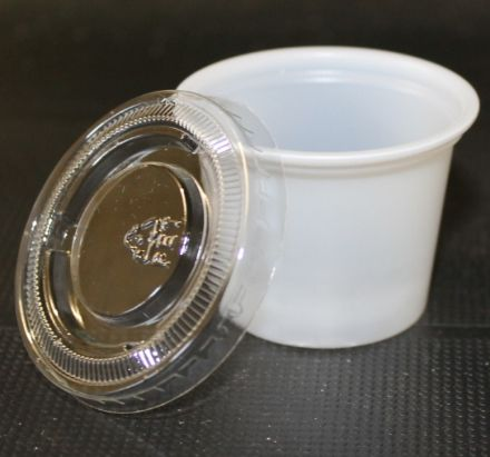 30 ml Portion pot with lid